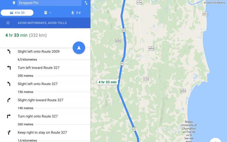 332 км пешком за 3 дня