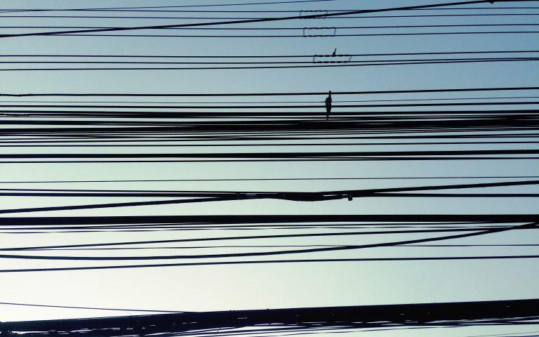 Столбы и провода: духовные опоры №38