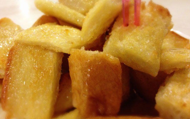 Сладкие хлебные тосты