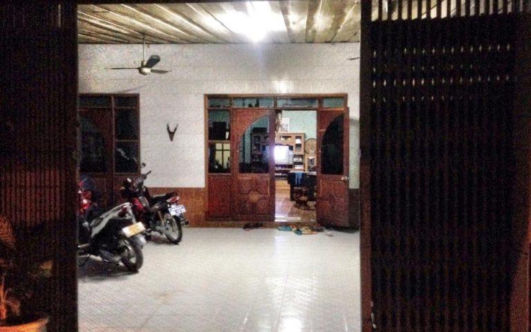 Типичный лаосский дом