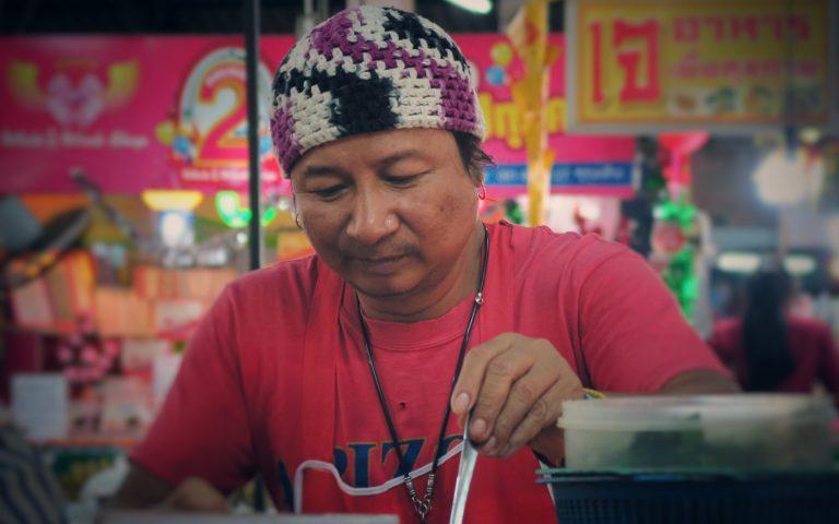 Исанский продавец Сом Тама