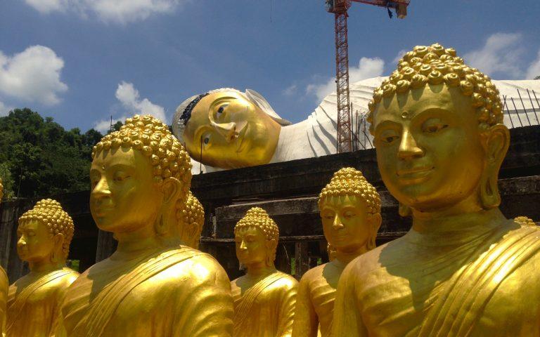 Строительство Будды
