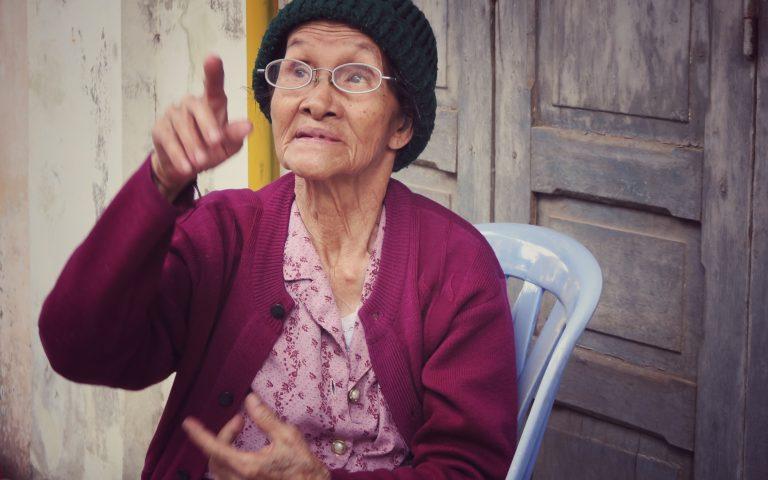 Бабушка помнит времена