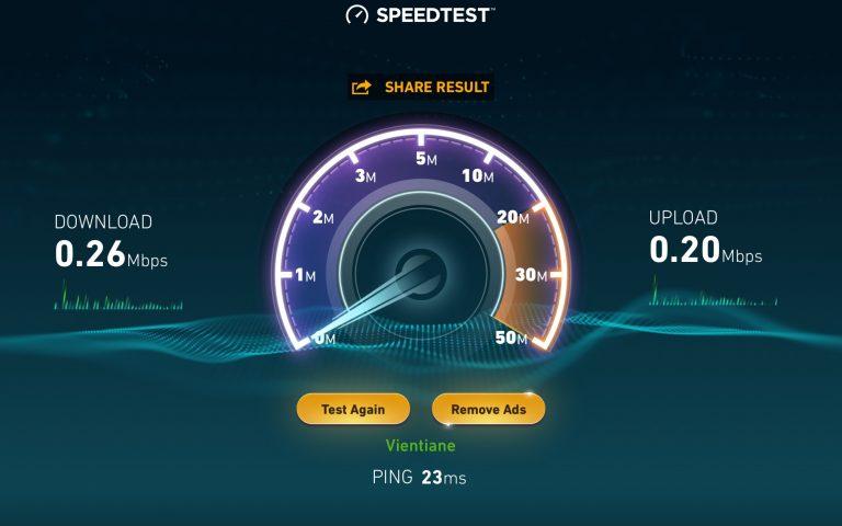 Интернет в Лаосе