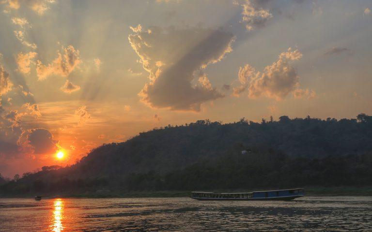 Меконг закатный 2