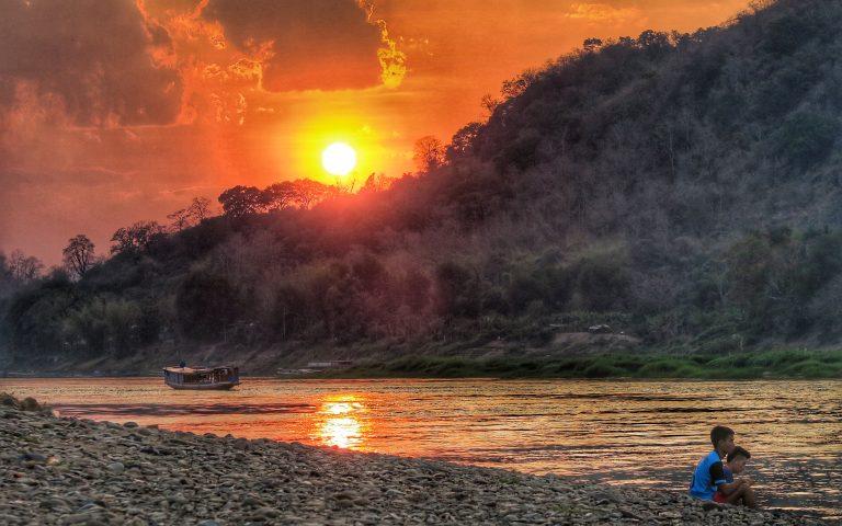 Меконг закатный