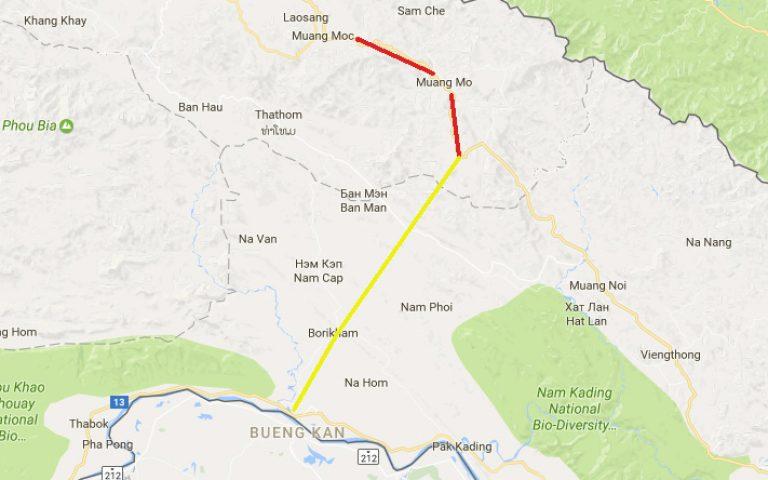 Лаосское шоссе 1D – лютый ад