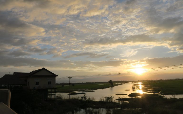 Камбоджа закатная 5
