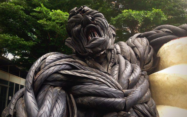 Современная скульптура Таиланда 2