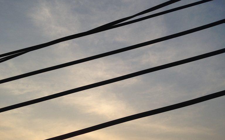Столбы и провода: духовные опоры №42