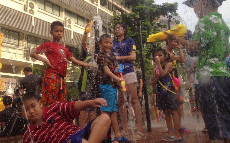 Сонгкран 2017: водный фестиваль 3