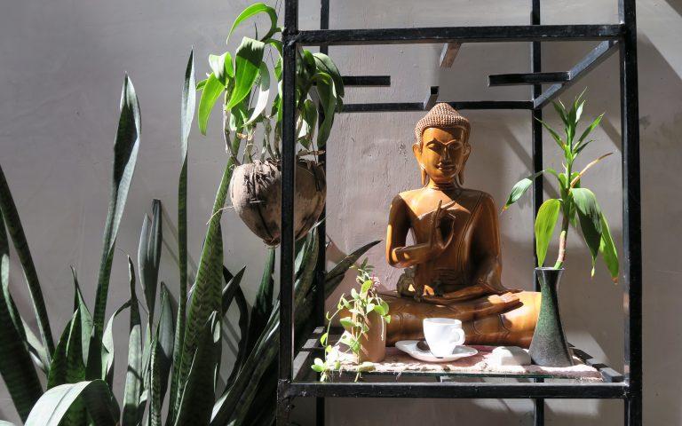 Кофейный Будда