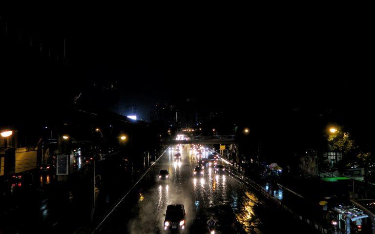 Бангкок ночной и мокрый