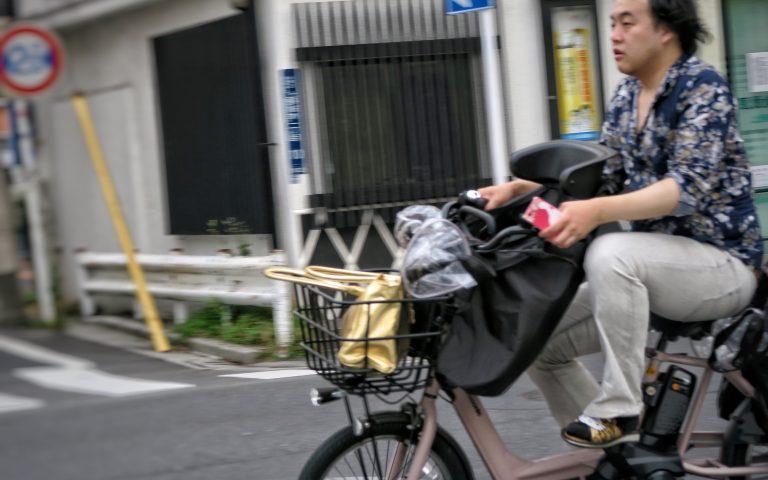 Японский папаня, гони!