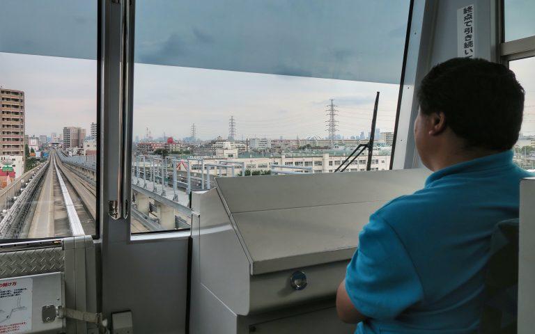Японские поезда без машинистов