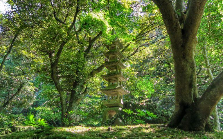 Японский парк Naritasan 7