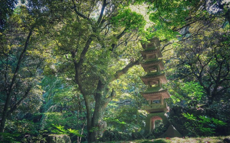 Японский парк Naritasan