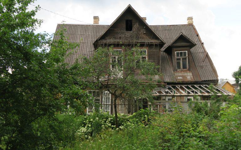 Городские развалины Вильнюса