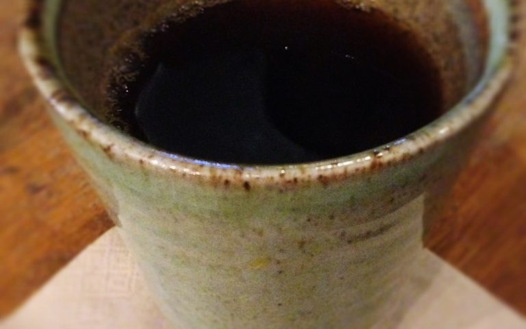 Капельный кофе в крутом бангкокском кафе