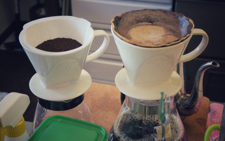 Кофе-пуровер в Японии