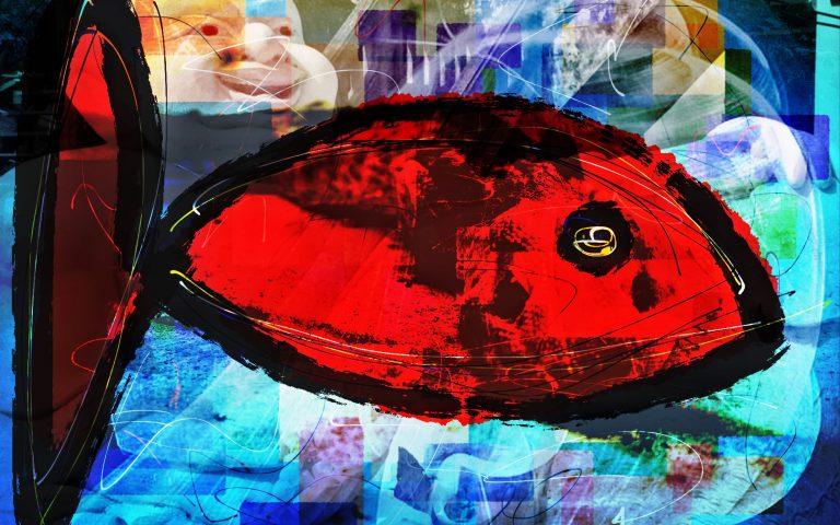 Большая Красная Рыба