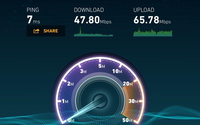 Скорость интернет в тайской глубинке