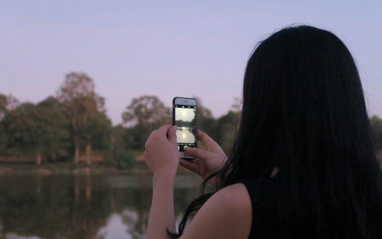 Закатное Солнце Ангкора