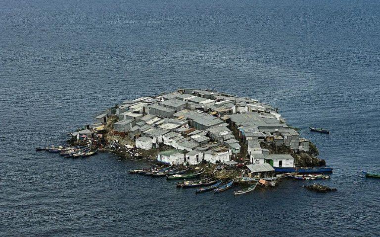 Остров Migingo на озере Виктория