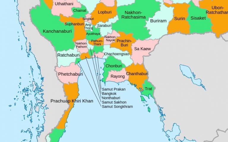 Теперь в Таиланде 83 провинции