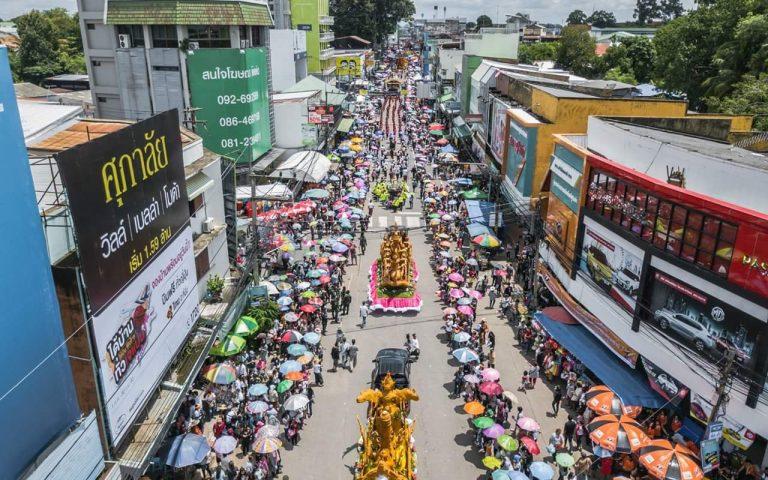 Фестиваль Свечей в Таиланде / Ubon Ratchathani Candle Festival