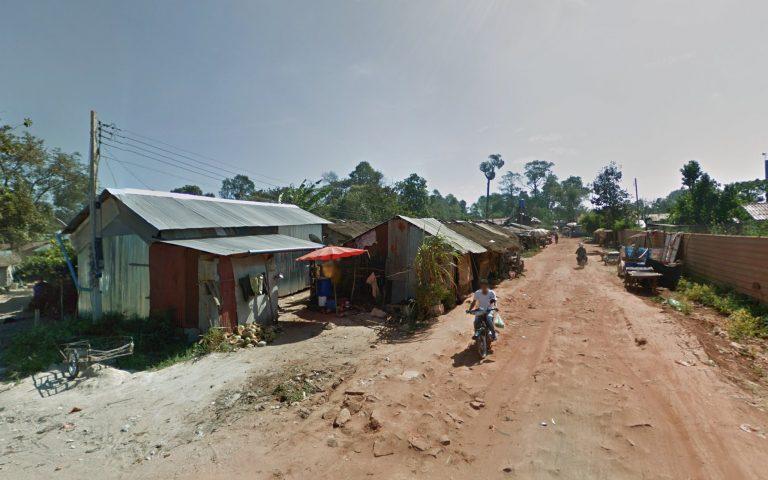 Тайско-камбоджийская граница Choam 2