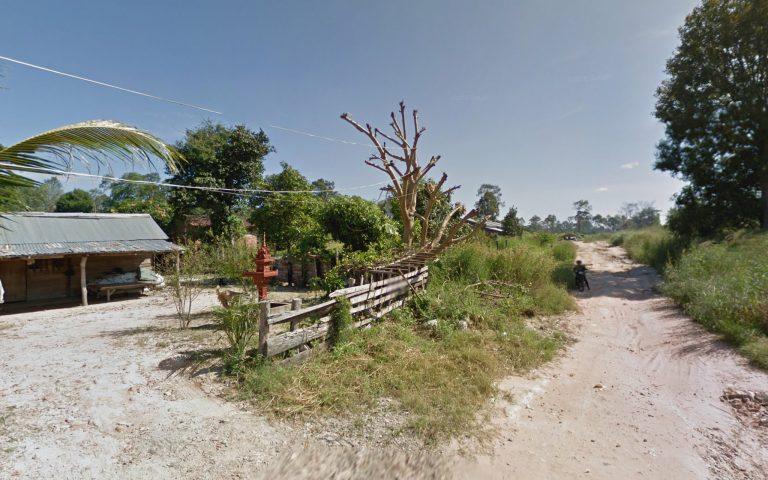 Тайско-камбоджийская граница Choam 3