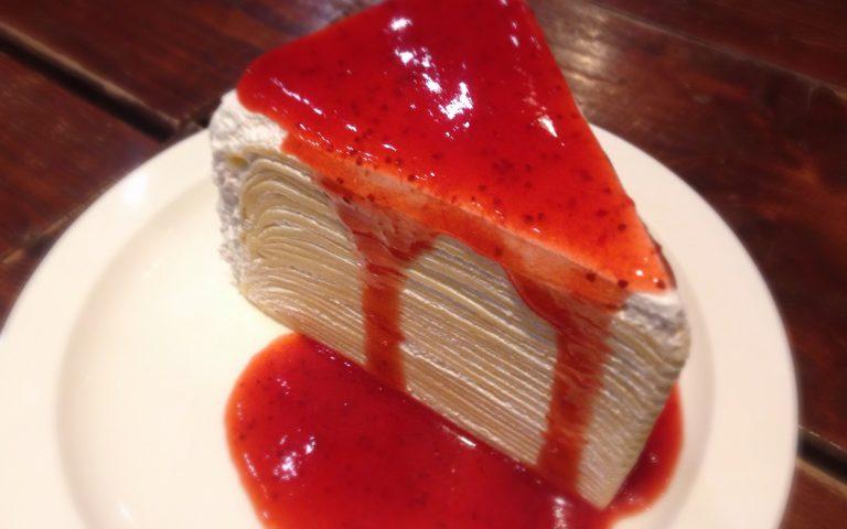 Тайский блинный торт