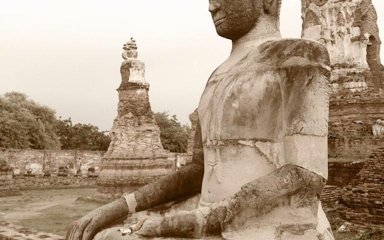 Sepia Tone Buddha