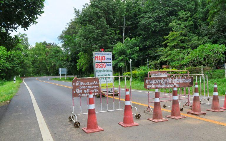 На тайско-камбоджийской границе умеренный сюр