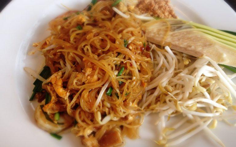 Пад-тай – рисовая лапша с креветками