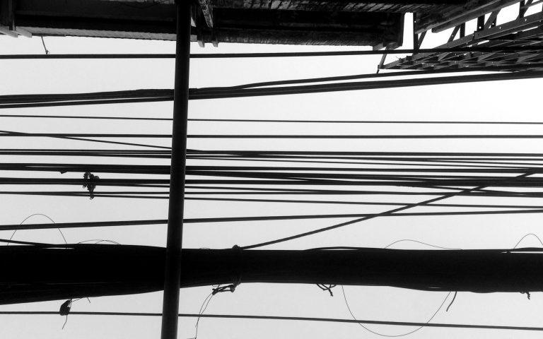 Столбы и провода: духовные опоры №65