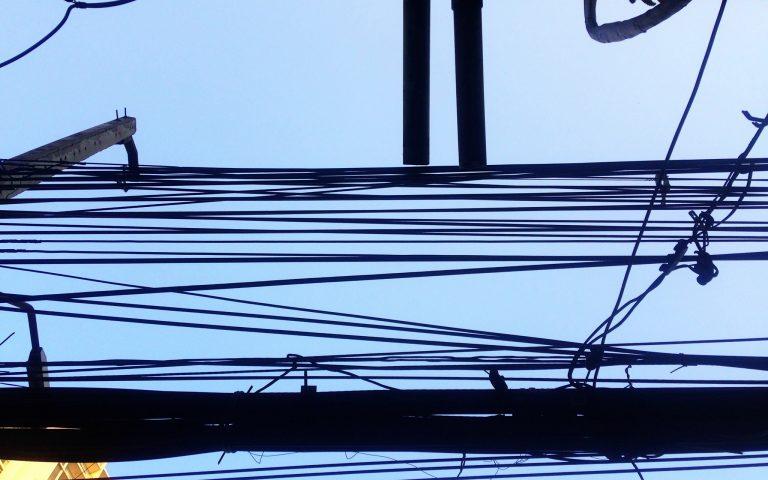 Столбы и провода: духовные опоры №60
