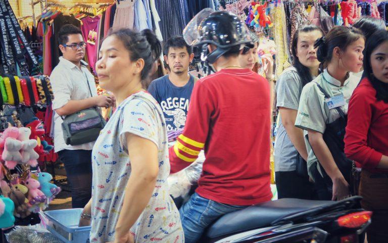 Мотоциклам в Таиланде везде проход