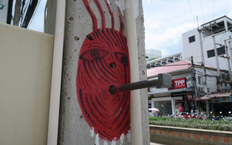 Граффити в Хуа Хине 13