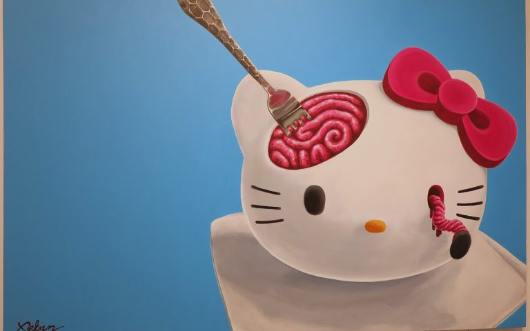 «Hello, Kitty!» в современном тайском искусстве