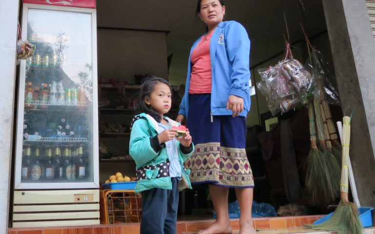 Местный магазинчик и его хозяйки