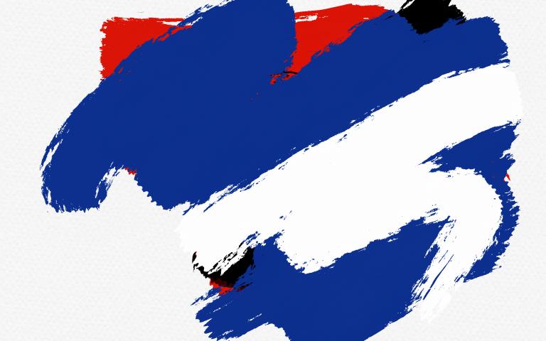 Вмешались Синий с Белым