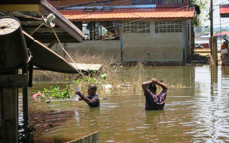 Наводнение в Таиланде 2019