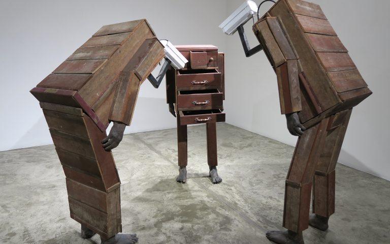 Скульптурные объекты  тайского искусства