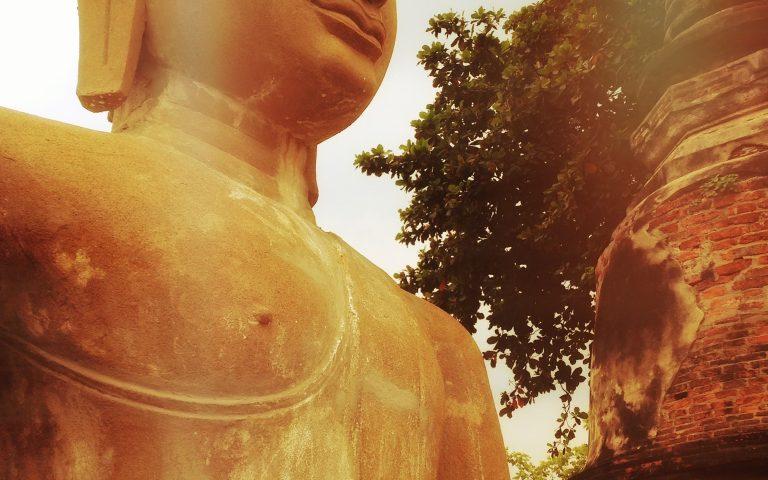 Будда в золотом