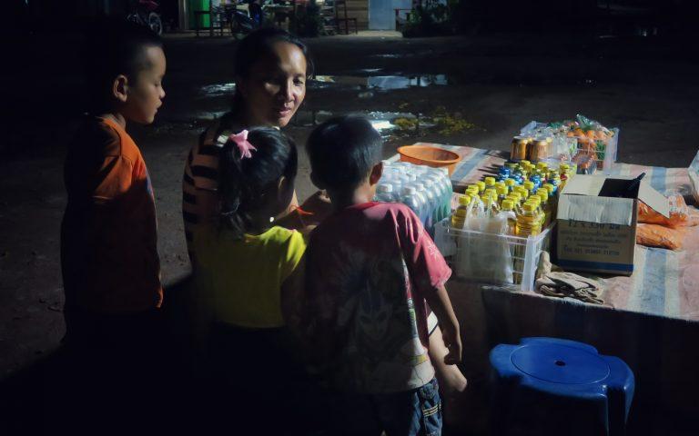 Полвосьмого в Лаосе