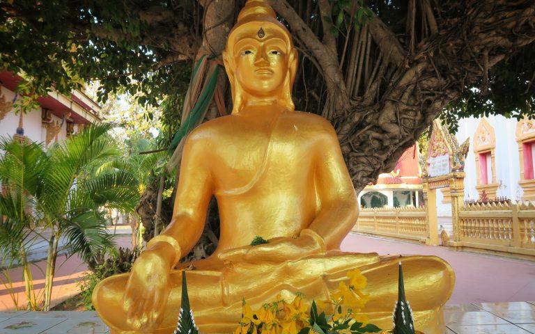 Будда храма Khong Chiam