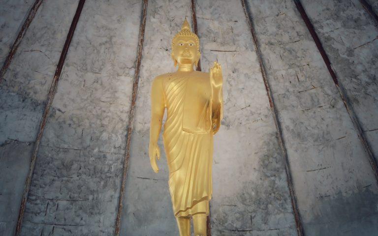 Будда под куполом