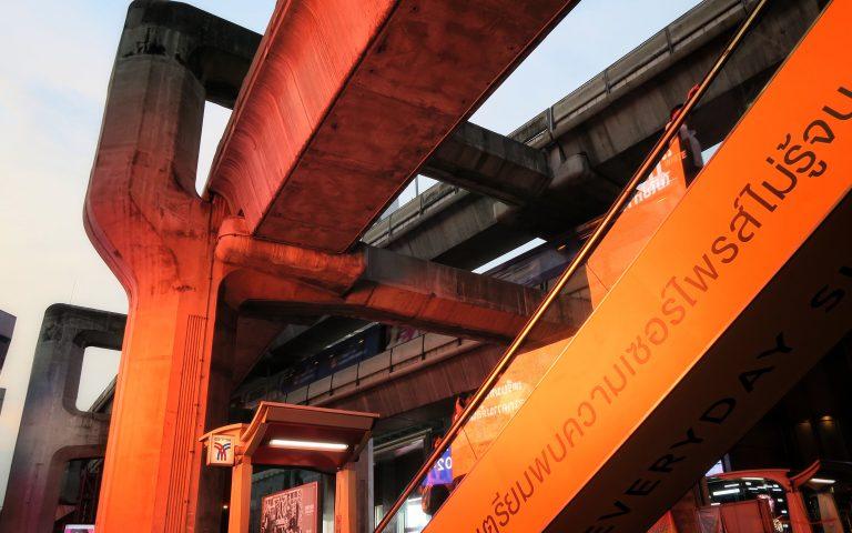 Бангкок огненно-бетонный